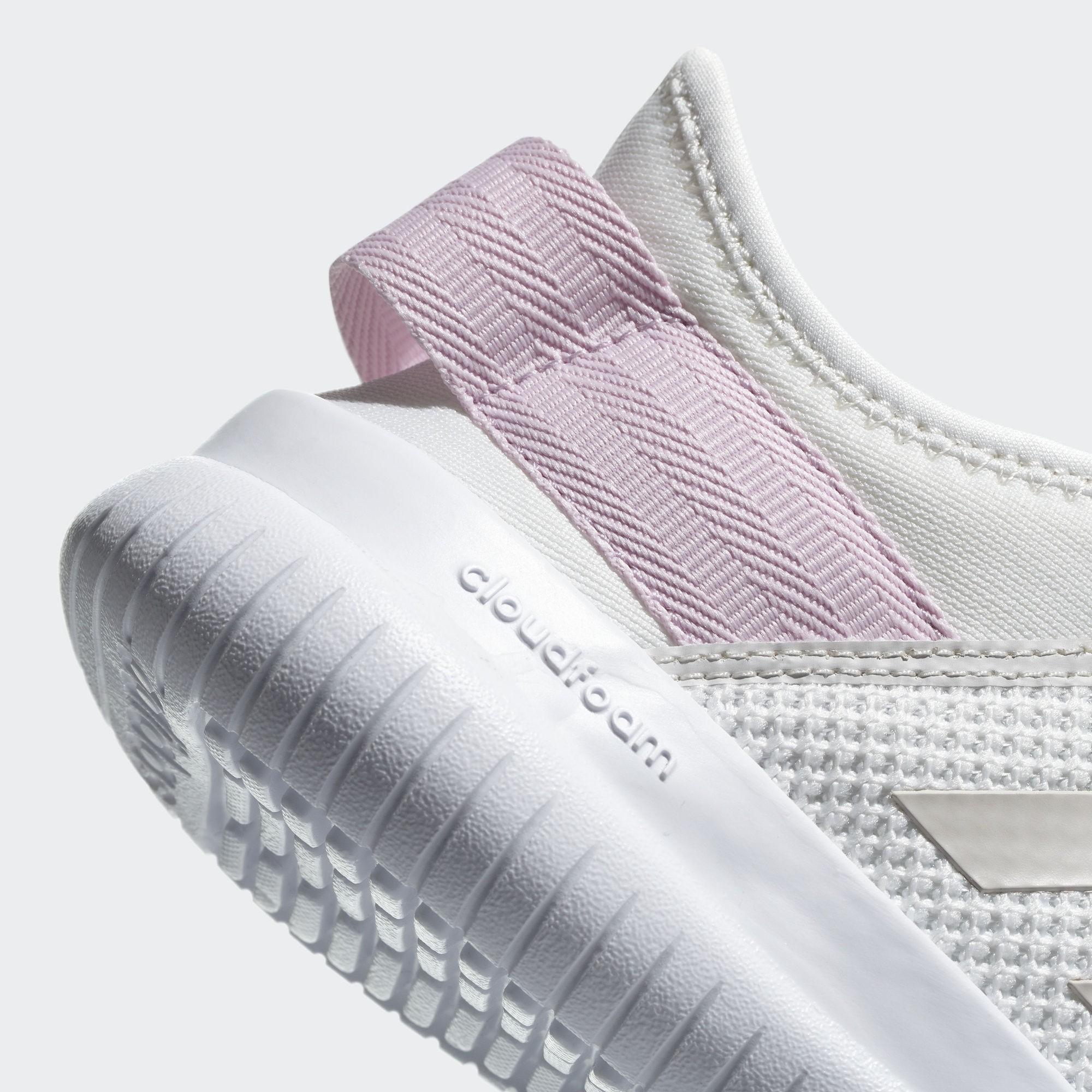 ... Adidas sepatu running Cloudfoam QT Flex W - DB0242 - white - 4