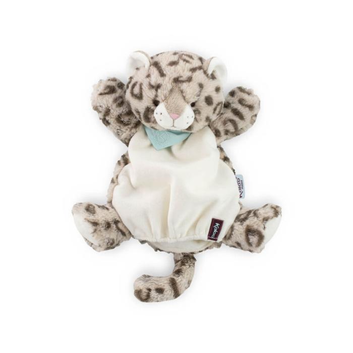 Kaloo Les Amis Cookie Leopard Doudou Puppet 30Cm
