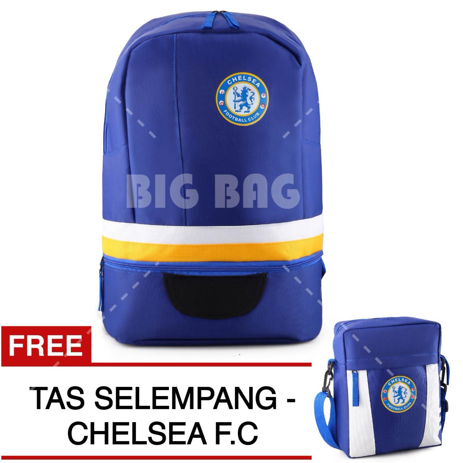 Toko Tas Ransel Bola Pria Chelsea Fc Laptop Backpack Men Soccer Editions Blue Free Tas Selempang Chelsea Fc Blue Terlengkap