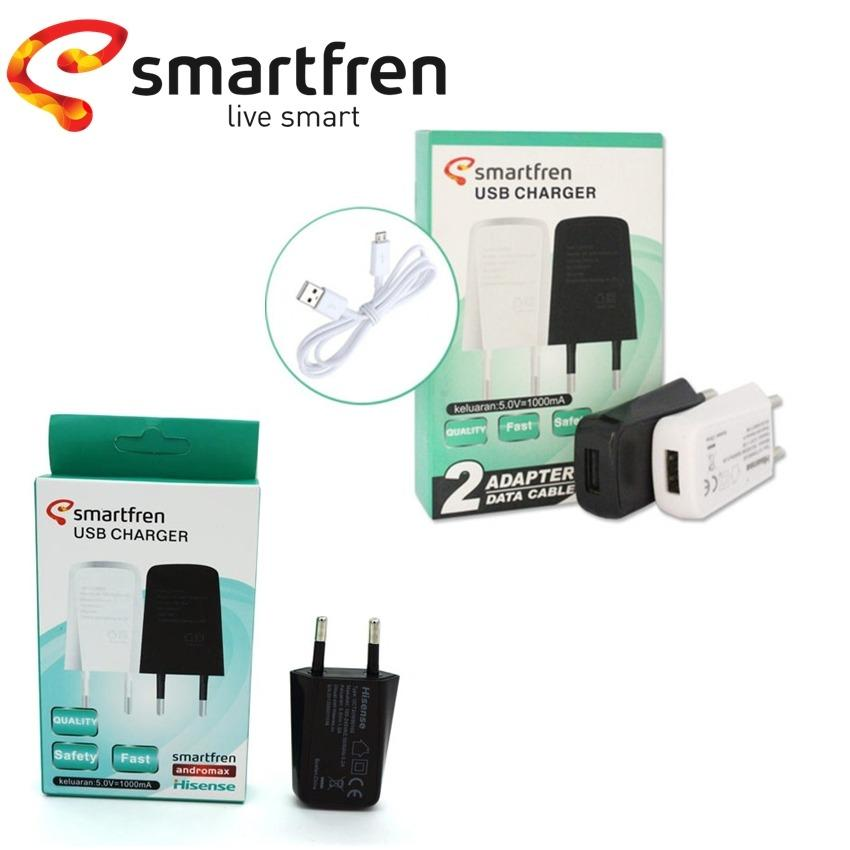 Smartfren Charger USB 5V-1A For Smartfren / Andromax / Hisense