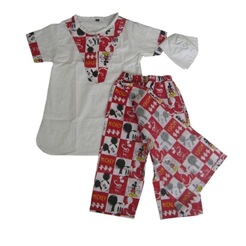 Sarkoci (Sarung celana + baju koko + peci) Bayi Anak Laki-laki