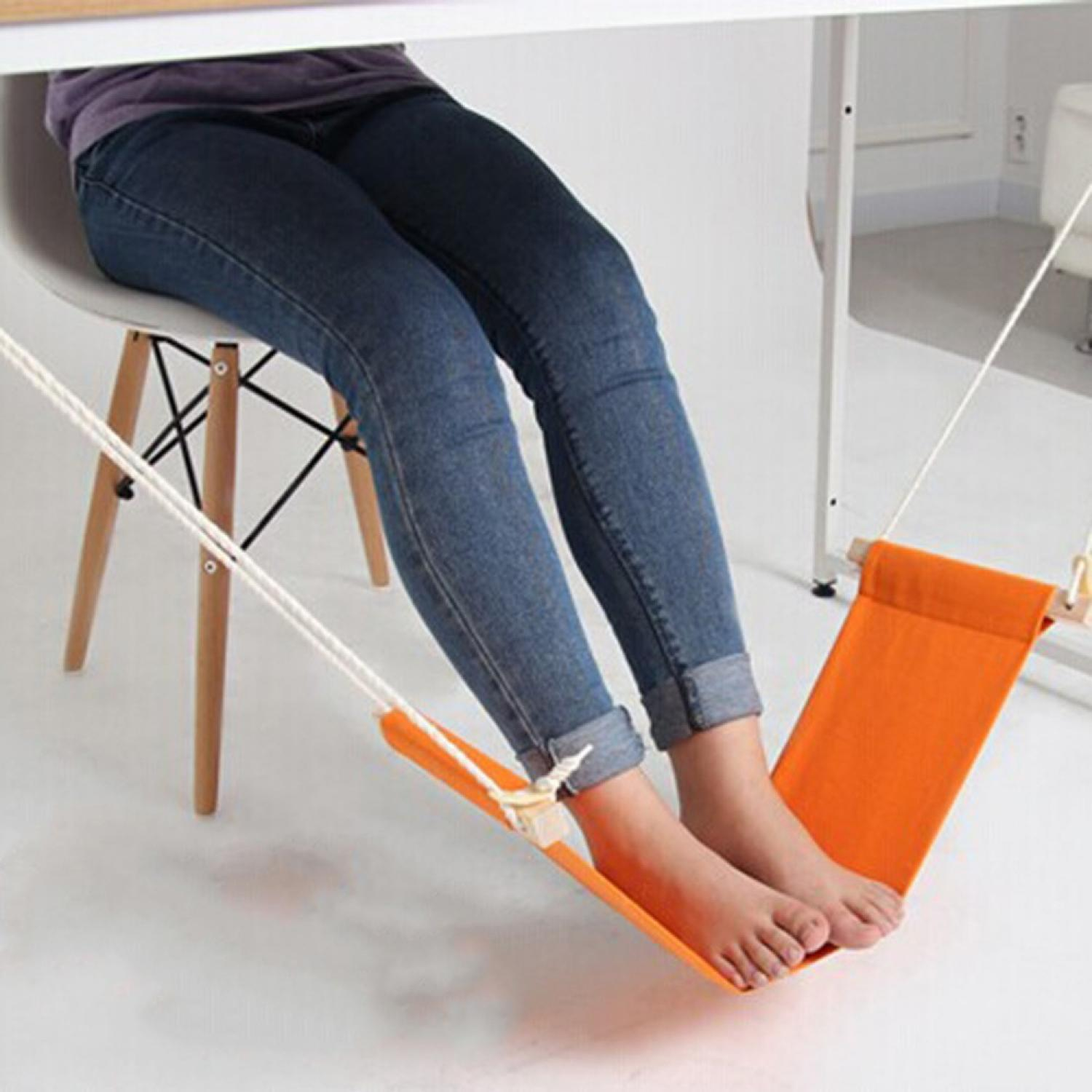 Mini Hammock Tablet Foot Rest / Pijakan Kaki Meja