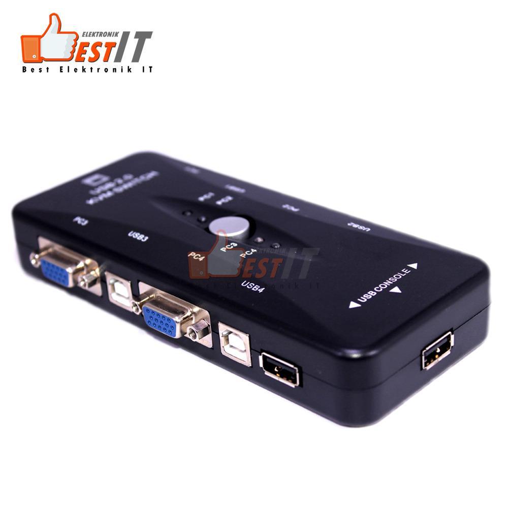 kvm switch 4 port