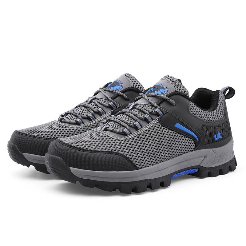 Sepatu Pria Outdoor Naik Gunung Tahan Cuaca Anti-Selip AIWOQI S953 - 3
