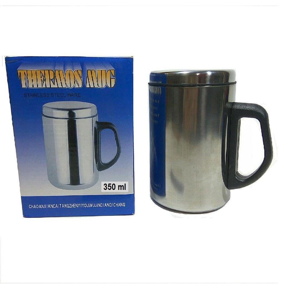 Detail Gambar Mug Thermos Stainless / Gelas Thermos Mug Stainless Terbaru