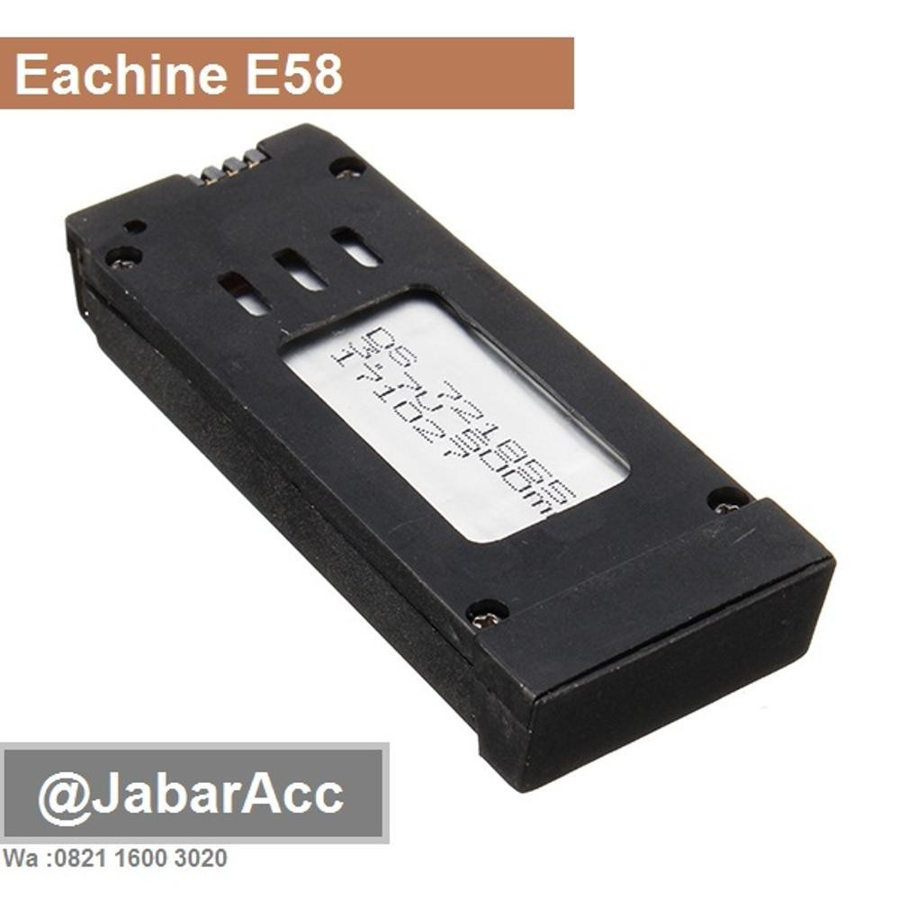 Harga Batre Eachine E58 Batery Eachine E58 Original Ready Stock New