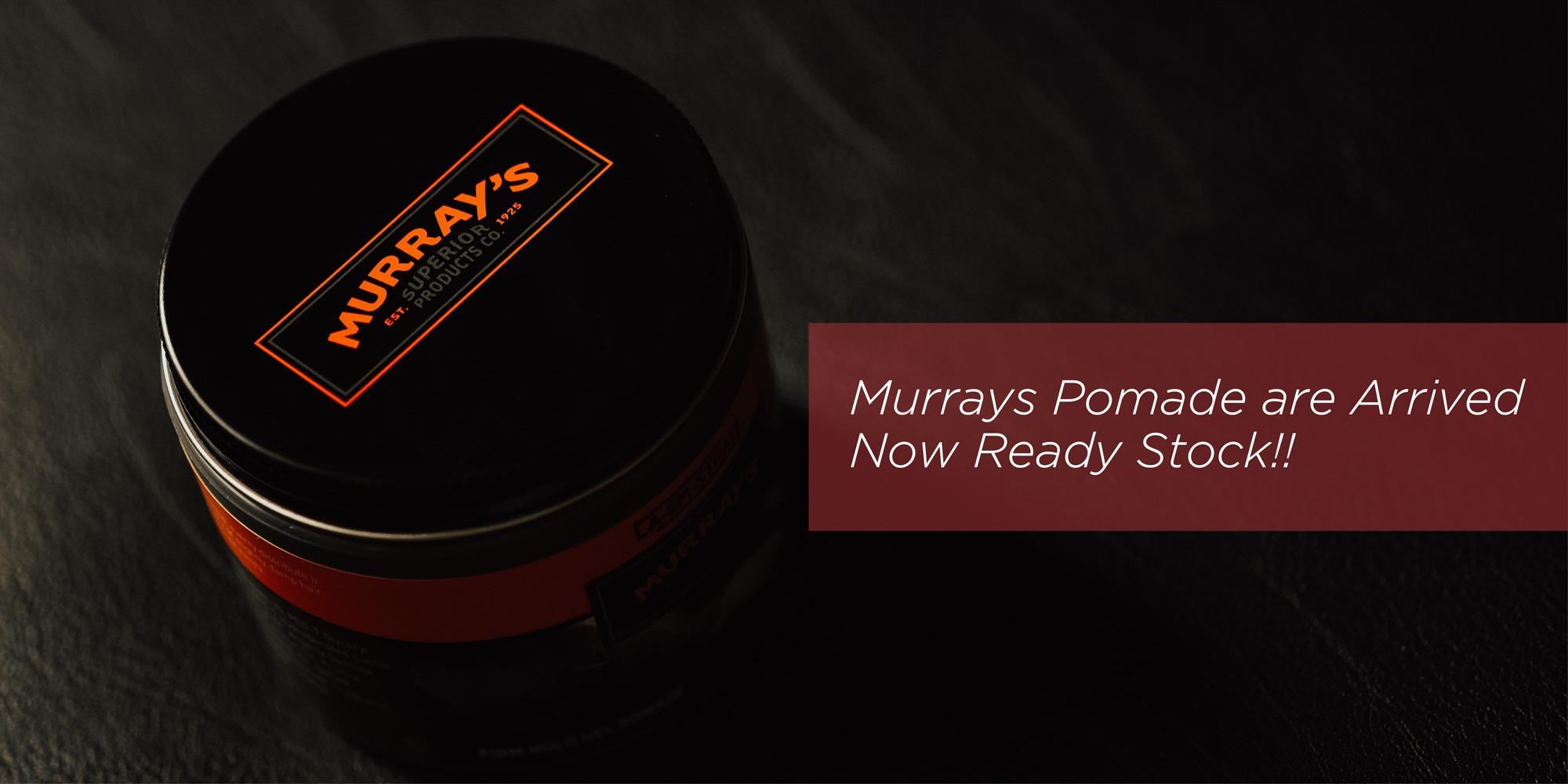 Murrays Pomade Edgewax Black Extreme Hold