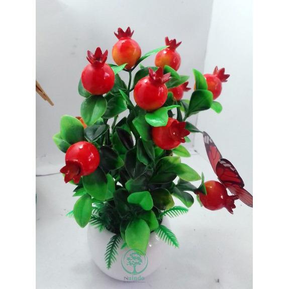 Naindo - Bunga Artifisial hiasan ruang tamu dan kantor-bunga palsu- 771e4604be
