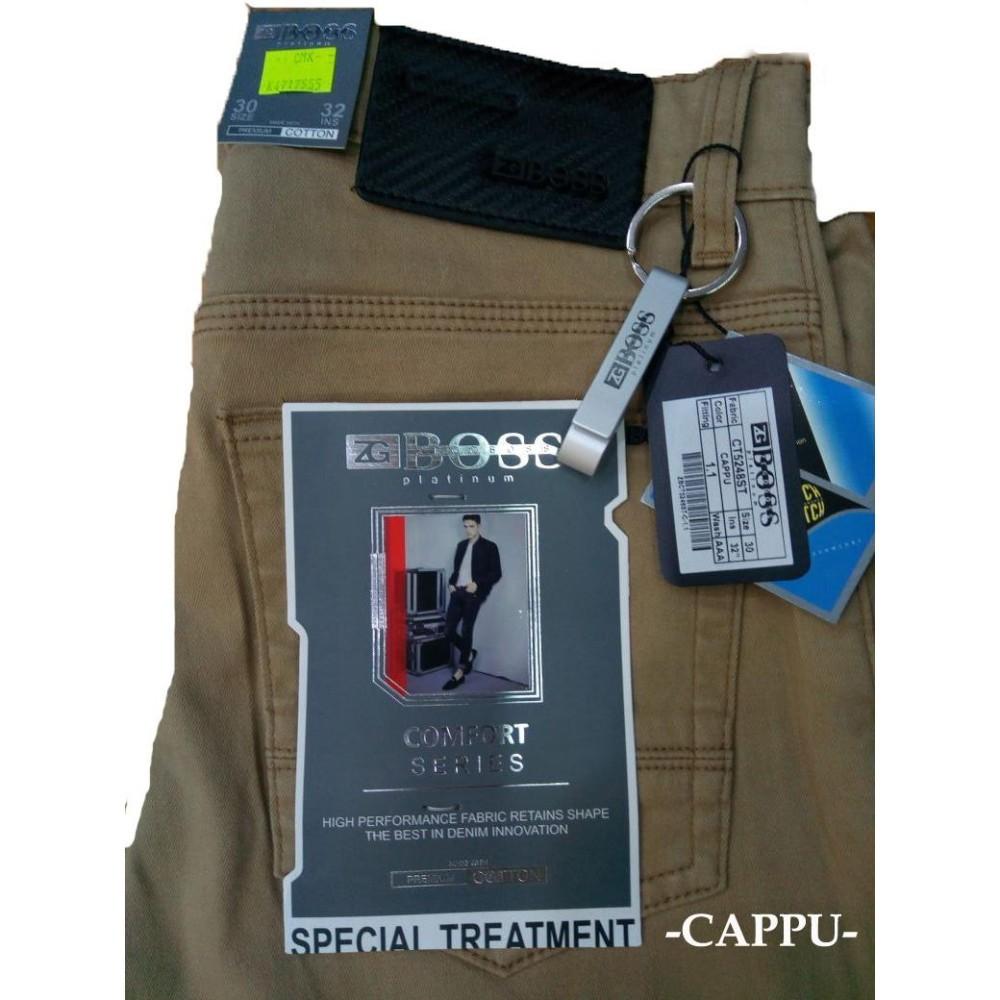 Beli Boss Celana Jeans Khakis Celana Panjang Pria Stretch Online Jawa Timur
