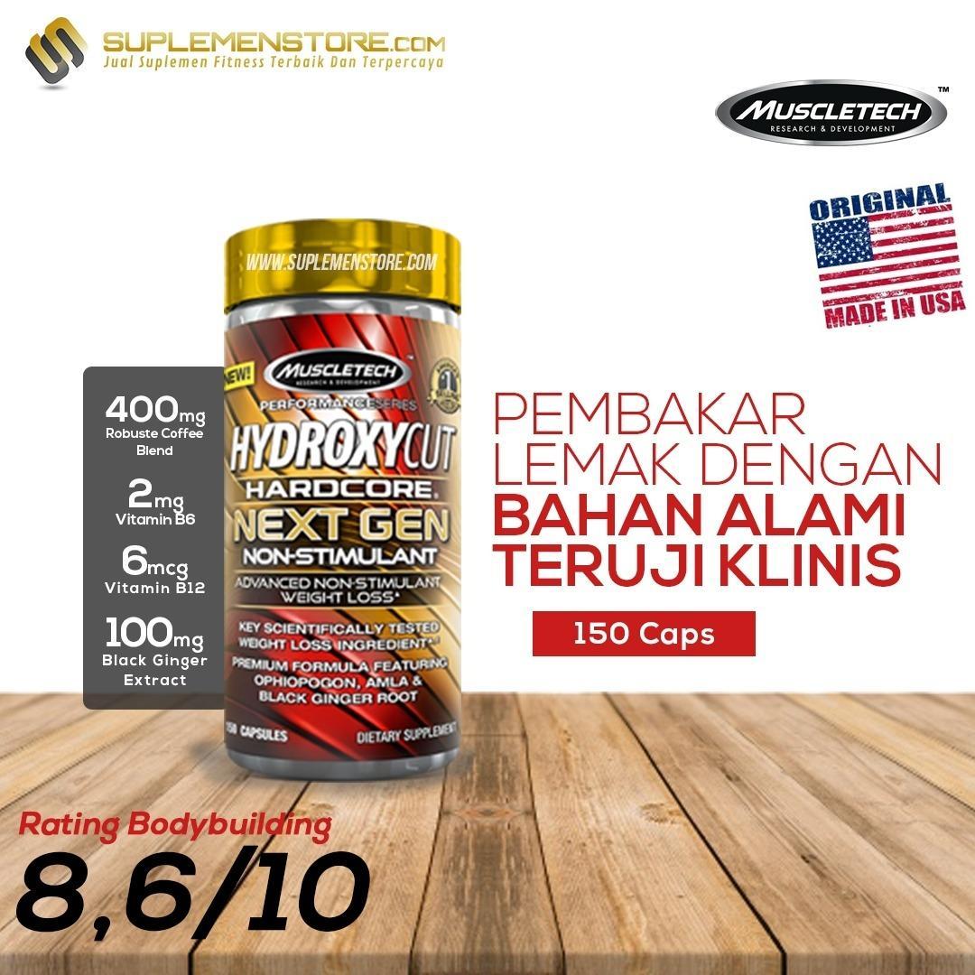 Review Muscletech Hydroxycut Next Gen Non Stimulant 150 Caps Muscletech Di Banten