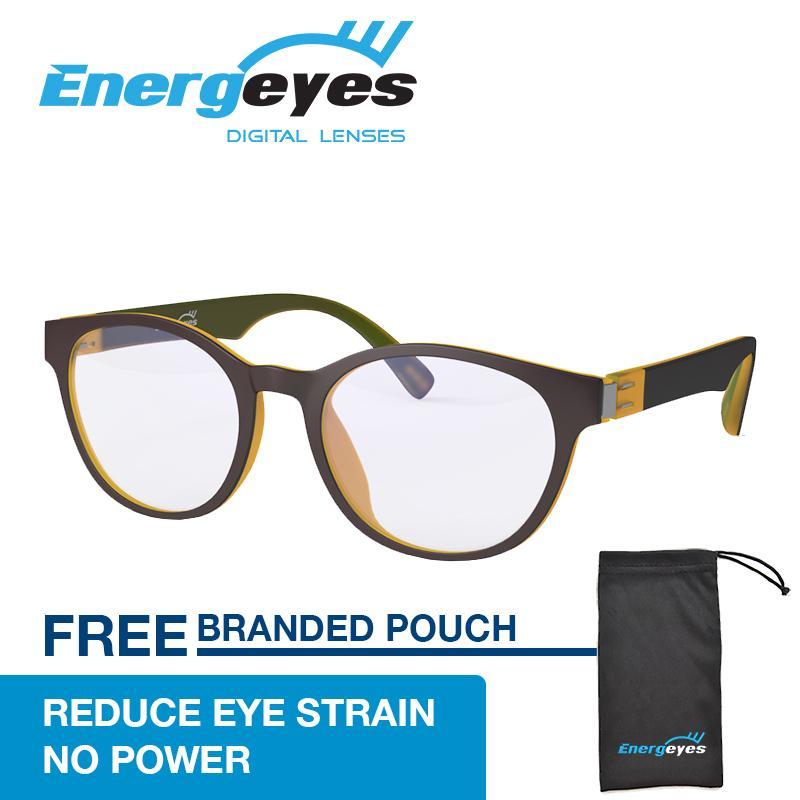 Harga Energeyes Kacamata Komputer Anti Radiasi Anti Lelah Melindungi Mata Mengurangi Blue Light Sampai 50 Dewasa Bundar Warna Depan Cokelat Belakang Kuning Maple Satu Set