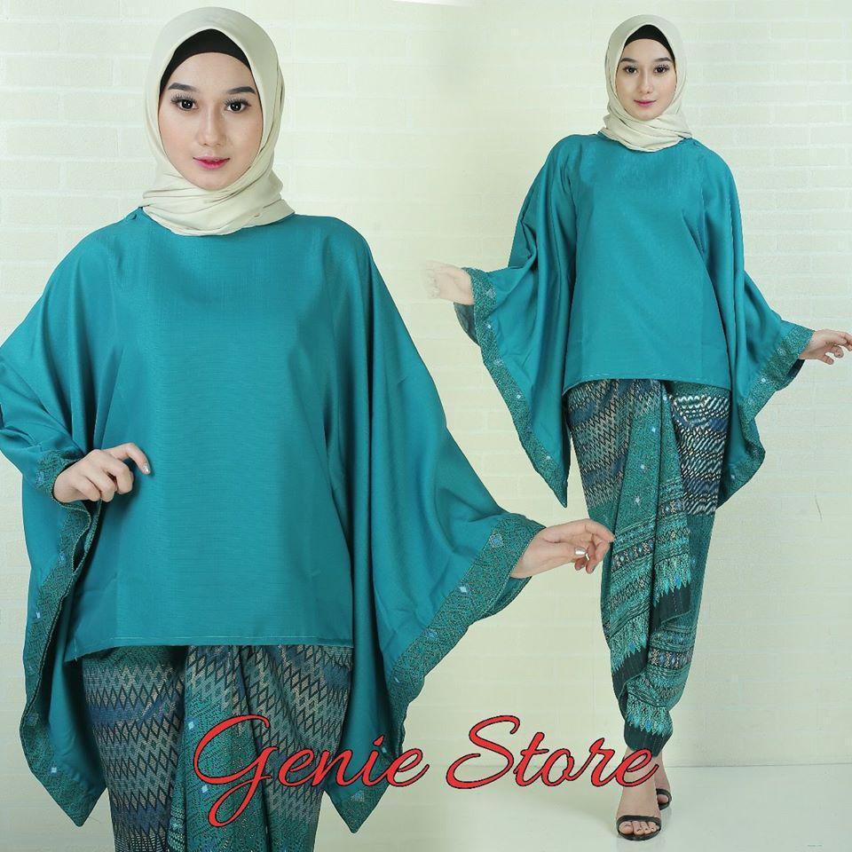 Fitur Setelan Kebaya Modern Model Batwing Baju Batik Wanita Kebaya