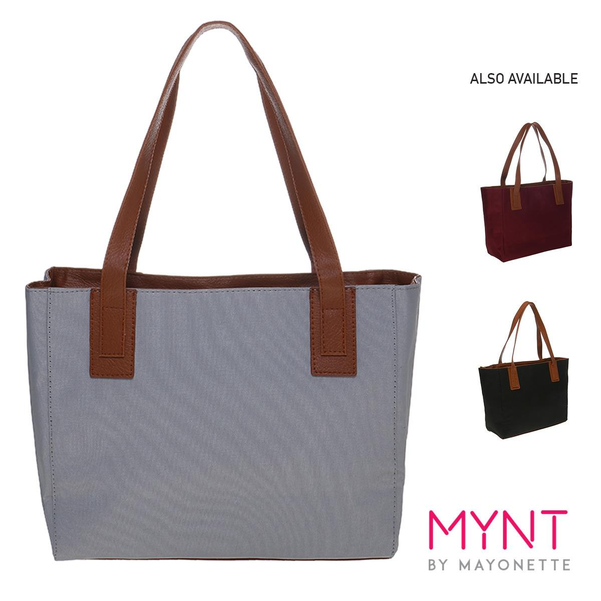 MYNT by Mayonette Tas Branded Wanita Korean Style Fashion Canvas Totes Shoulder High Quality Women Bags Emma Canvas