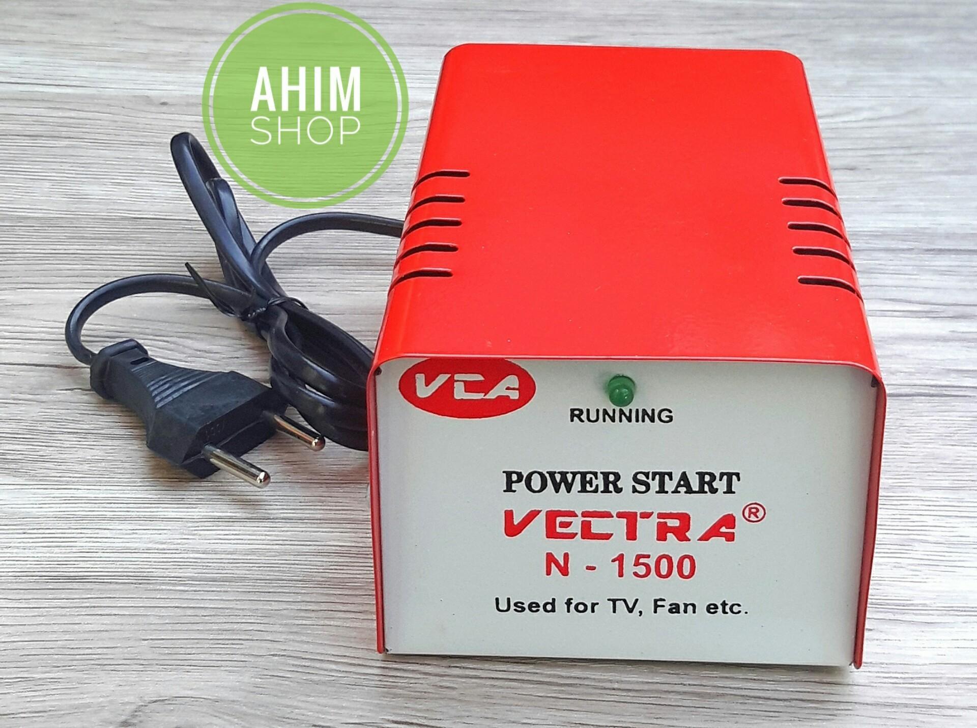 Fitur Vectra R Auto Start Dua Alat Elektronik Max 1500 W Body Besi Penghemat Listrik Power Plus Automatic Starting