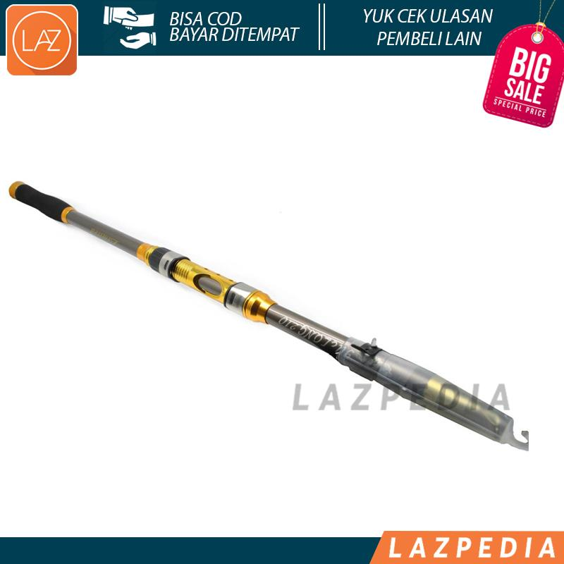 Laz COD - Joran Pancing Carbon Fiber Sea Fishing Rod 2.1M/5 di Design