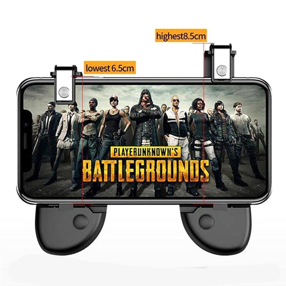Paket L1R1 Gamepad R8S PREMIUM Trigger PUBG L1 R1 ROS Fire Button - Tidak Menghalangi Layar - 5
