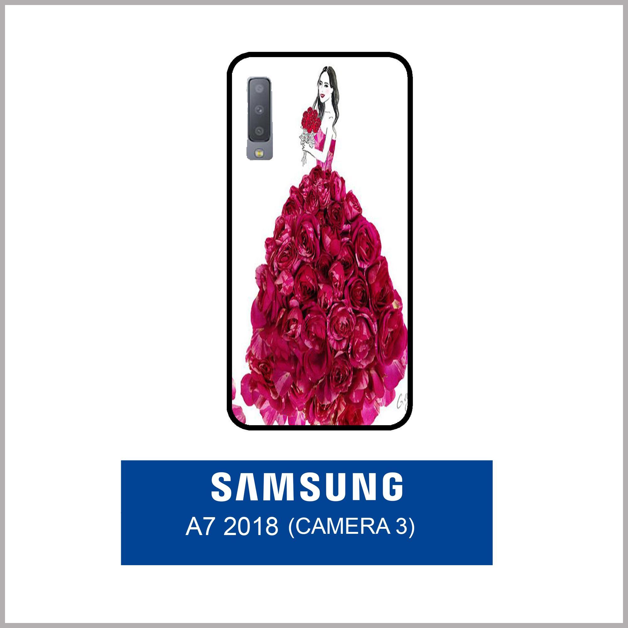 Case Fashion Printing For Samsung Galaxy A7 2018 (3 Camera) - 17