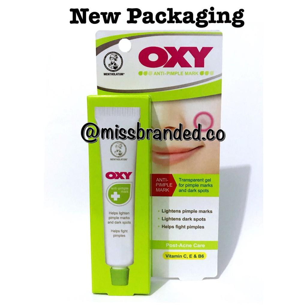 Detail Gambar OXY Whitening Anti Pimple Mark 18g Terbaru