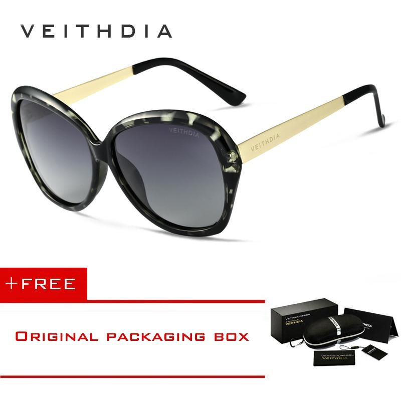 Beli Veithdia Tr90 Wanita Mengemudi Kacamata Mewah Ladies Designer Sunglasses Eyewear 8012 Secara Angsuran