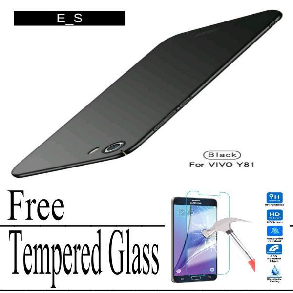 Hardcase case For Vivo Y81 Baby Skin Slim Free Tempered Glass _ETI_SHOP