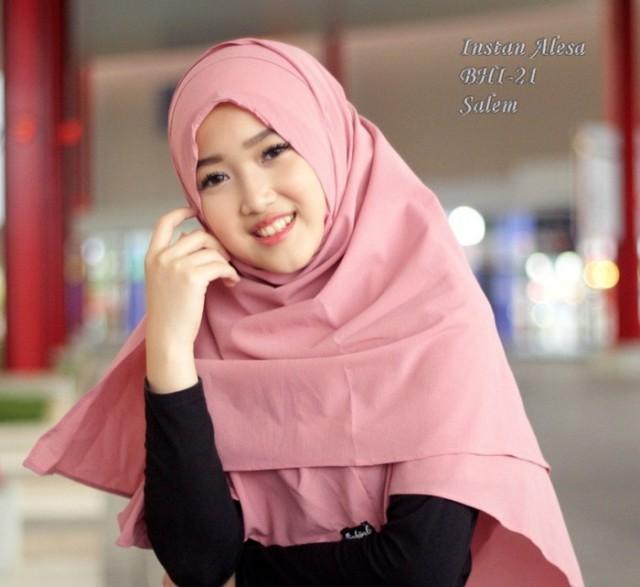 Shopping Yukz Jilbab Kerudung Pasmina Instan HIJAB FANNY / Hijab Instan / Bergo Instan / Khimar