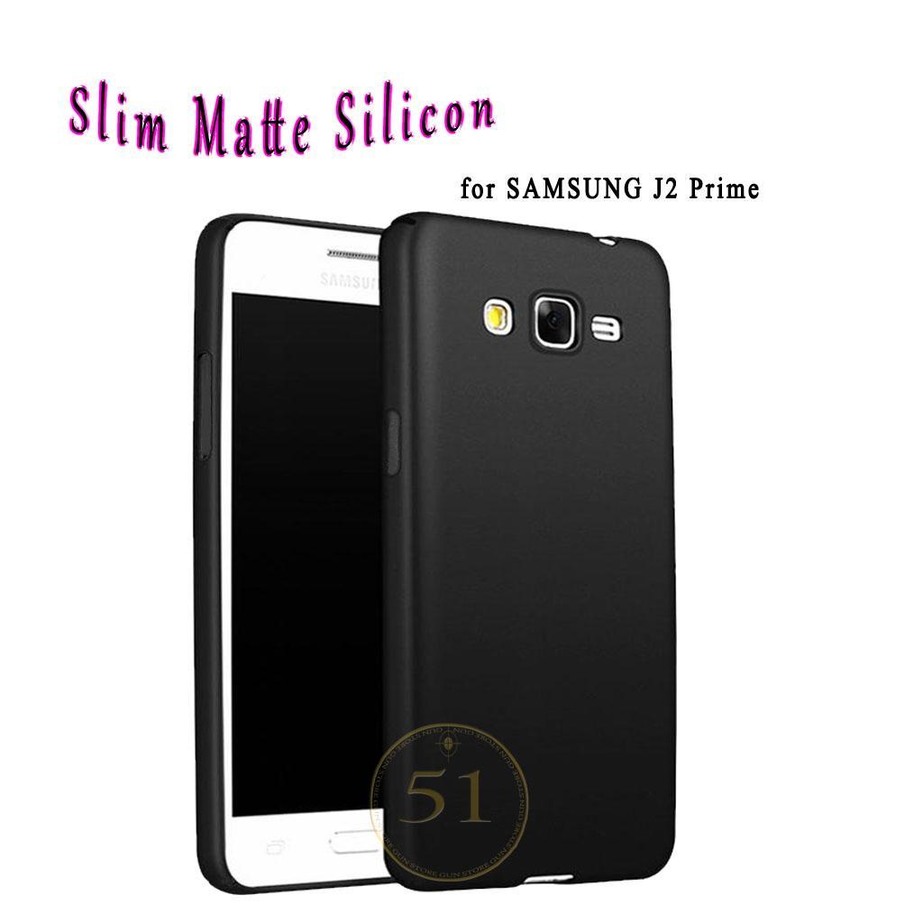 Case Slim Black Matte Samsung Galaxy J2 Prime Baby Skin Softcase Ultra Thin Jelly Silikon