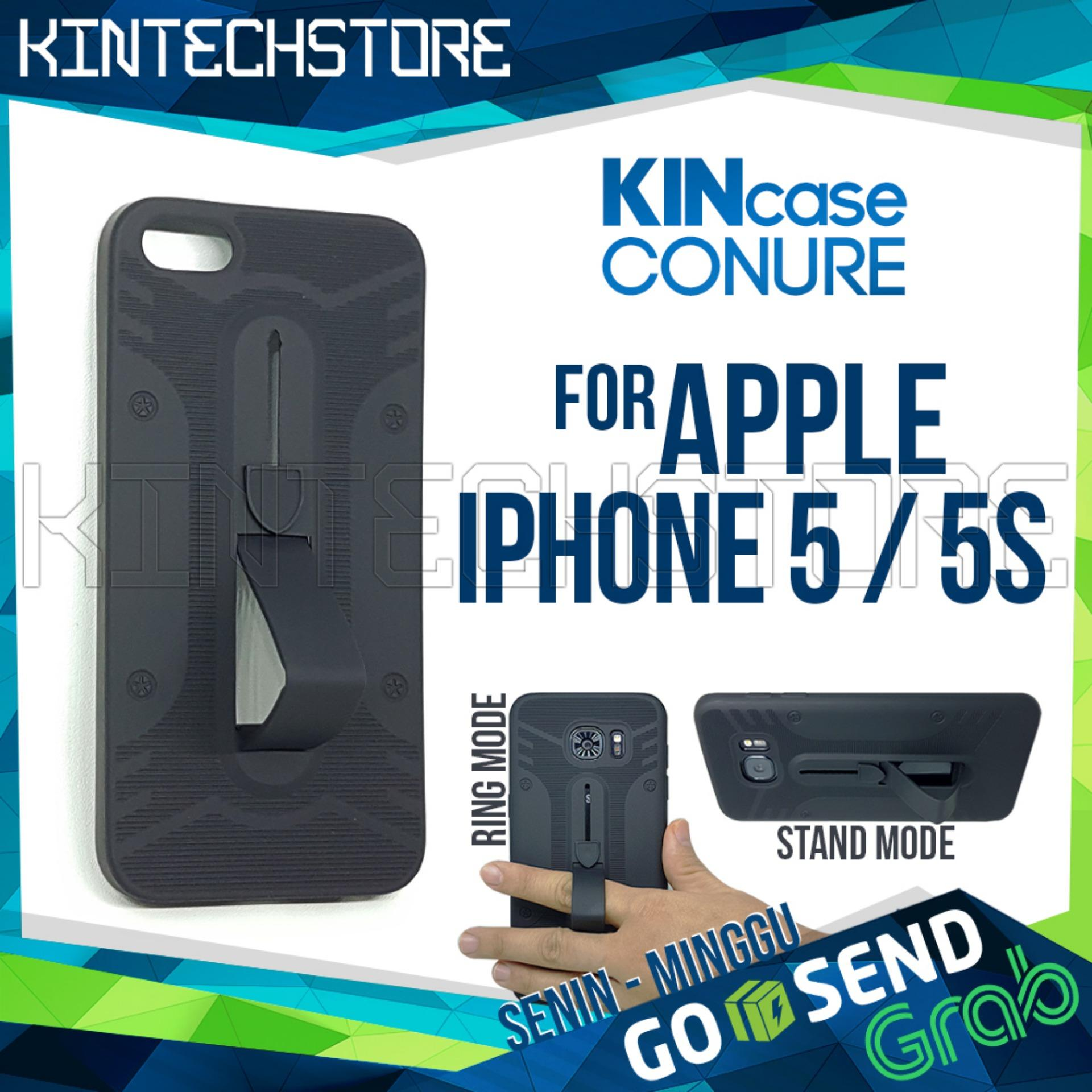 Case Iphone 5 Conure 3in1 Smart Grip COCOSE IPAKY Drop resistance anti Shock Silicone Cover -
