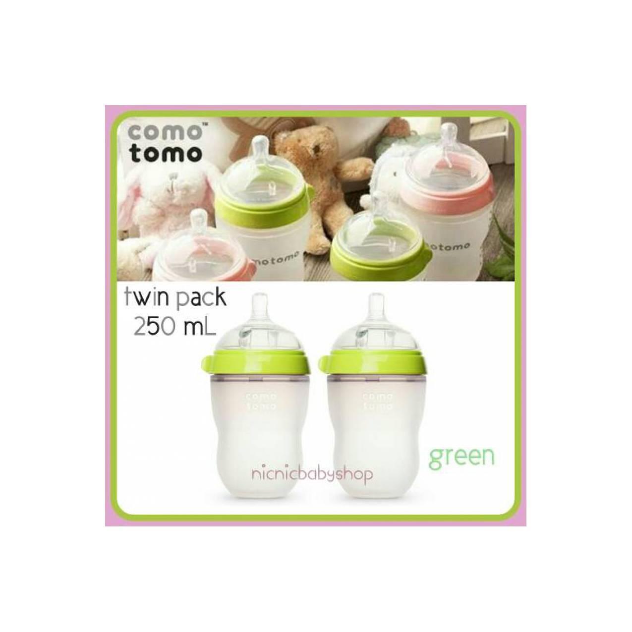 Promo Terlengkap Twin Tulipware Sunny Green Set Di Toko Online Shop Comotomo 250 Ml Pack Baby Bottle