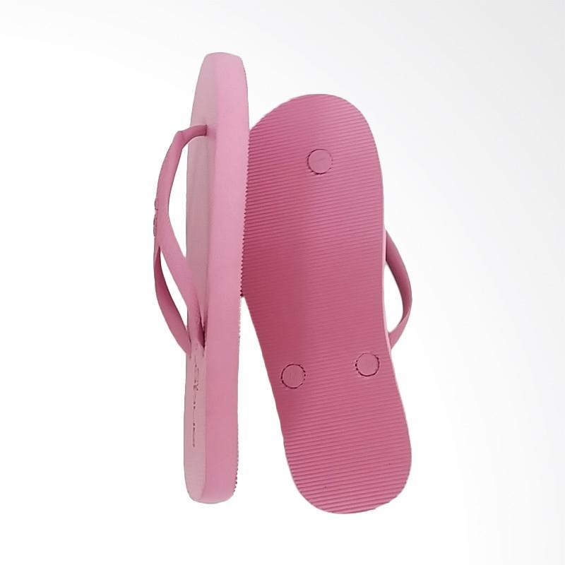 ... Ando Nice Ladies Sandal Jepit Wanita - Pink - 3