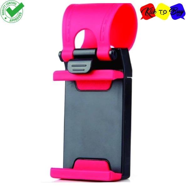 Car Steering Wheel Phone Holder - Stand Hp Setir Mobil Smartphone