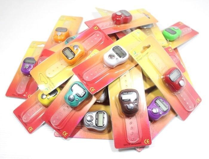 Detail Gambar Tasbih Digital / Digitally Counter / Tasbih Mini Finger / Tasbih Jari / Digital Tally Counter Terbaru