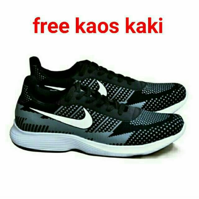 harga Sepatu Sport Nike Airmax Zero One Olahraga Lari Rinning Anak Pria Laki Cowo Putih Hitam Keren Murah Lazada.co.id