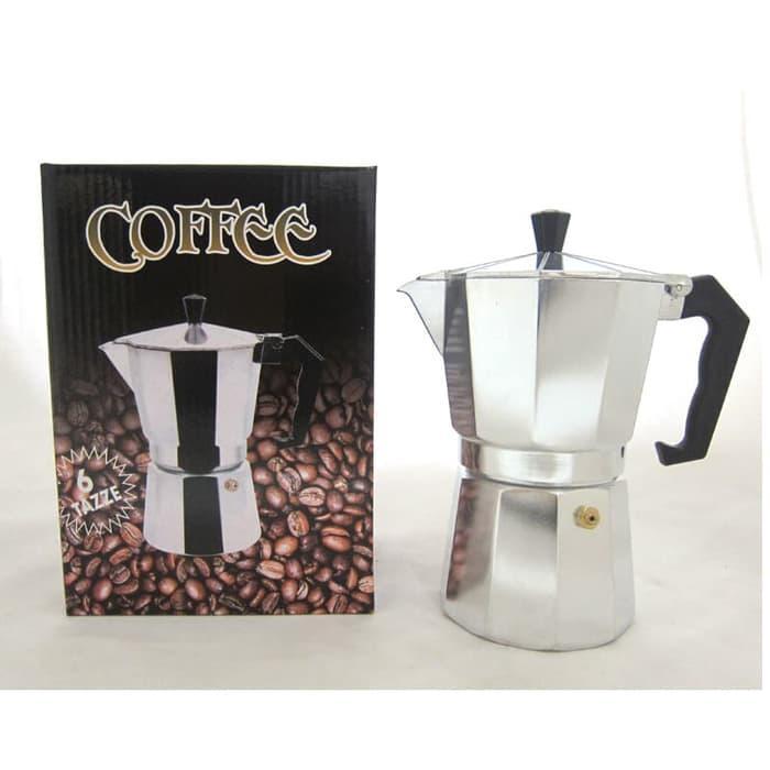 Moka pot 6 cup Espresso Coffee Maker
