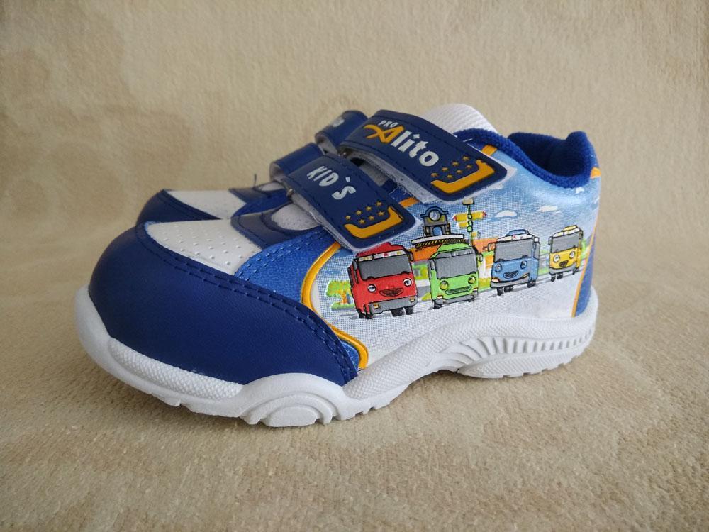 sepatu anak tk alito tayo biru 28 – 30