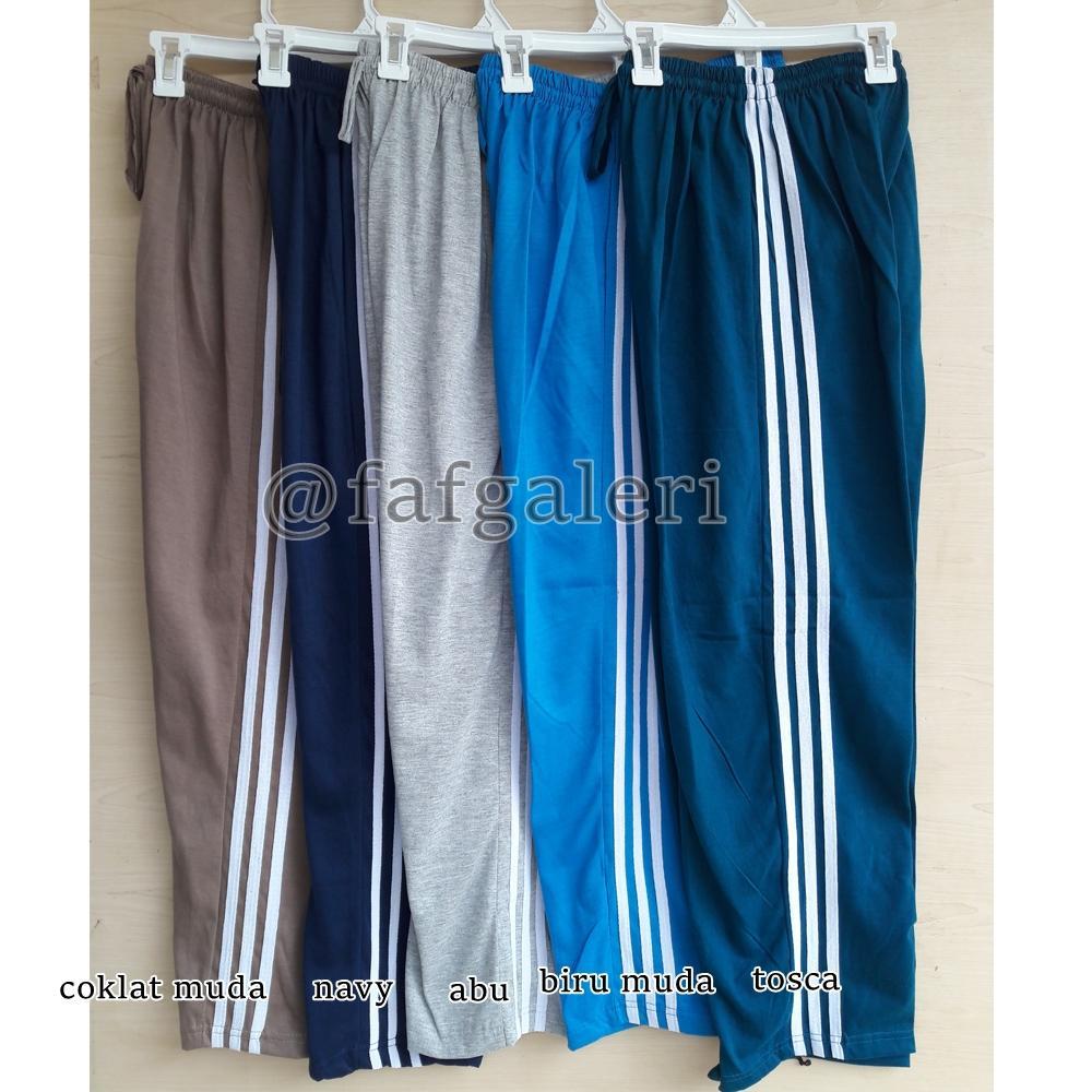 Celana Panjang Trening Santai All Size Harga Murah Pria Wanita Remaja dan Dewasa - Celana Training OlahRaga - 3