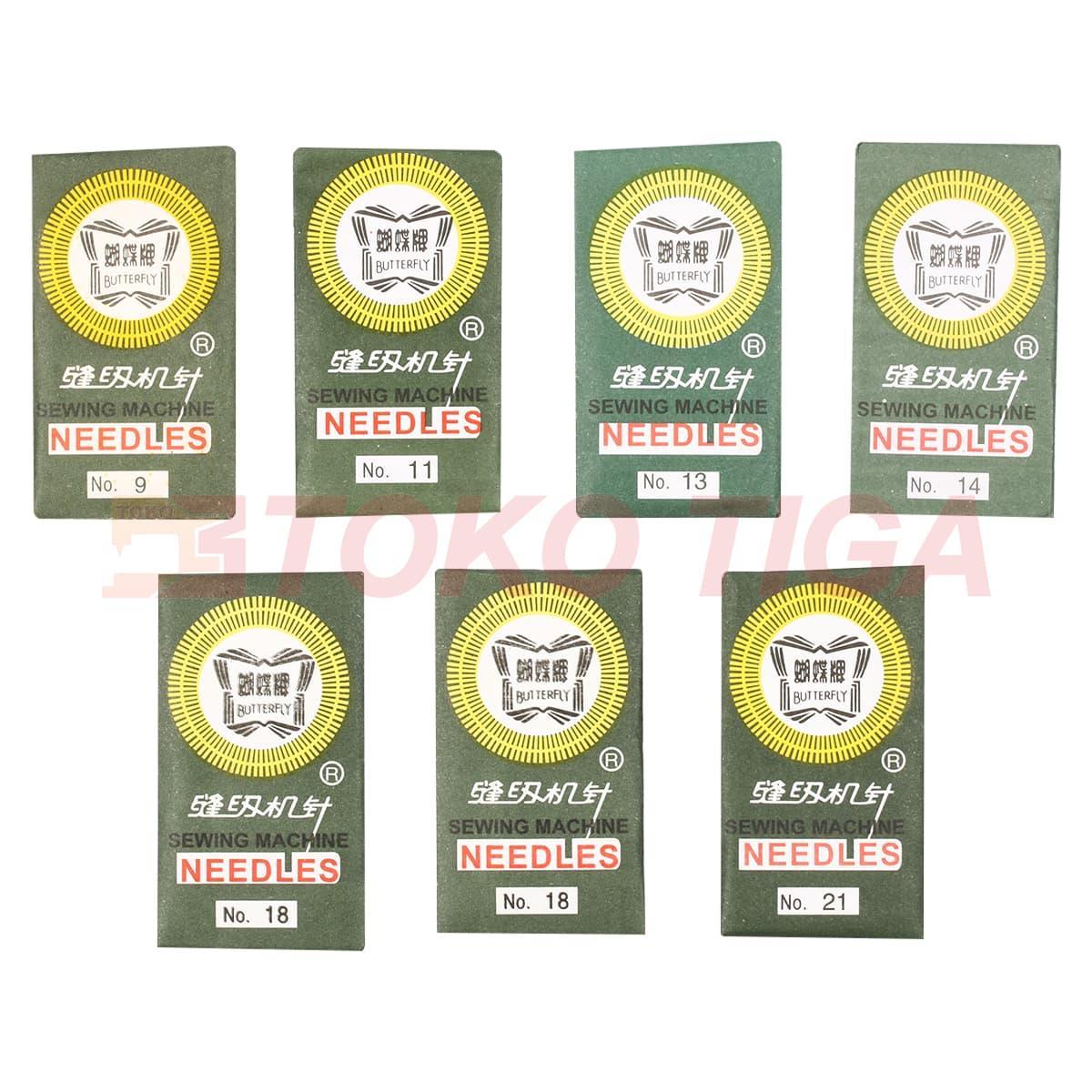 Fitur Promo Termurah Jarum Mesin Jahit Merk Butterfly Portable Jh 8190s Multifungsi 4