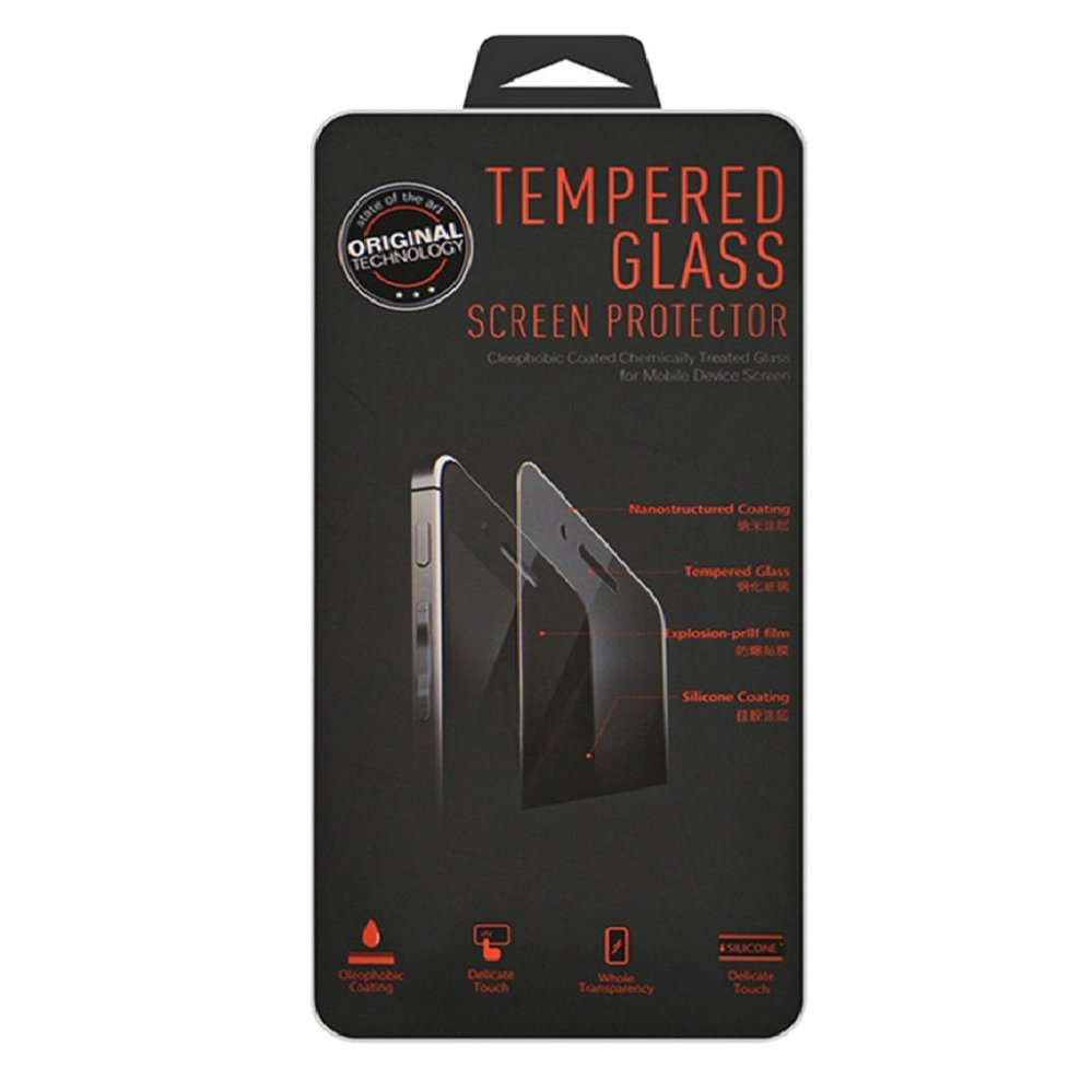 Tempered Glass For Apple iPhone 6 / iPhone6 / Iphone 6 / Iphone 6 Ukuran 4.7 Inch / IP 6 / iPhone 6G / iPhone 6S 9H Hardness Antigores Kaca Screen Protector / Screen Guard / Temper Kaca / Anti Gores Kaca - Transparant