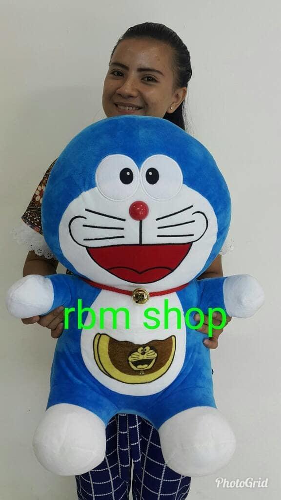 Boneka Doraemon Jumbo / Doraemon -+45 Cm / Doraemon Besar - W9Rhj1