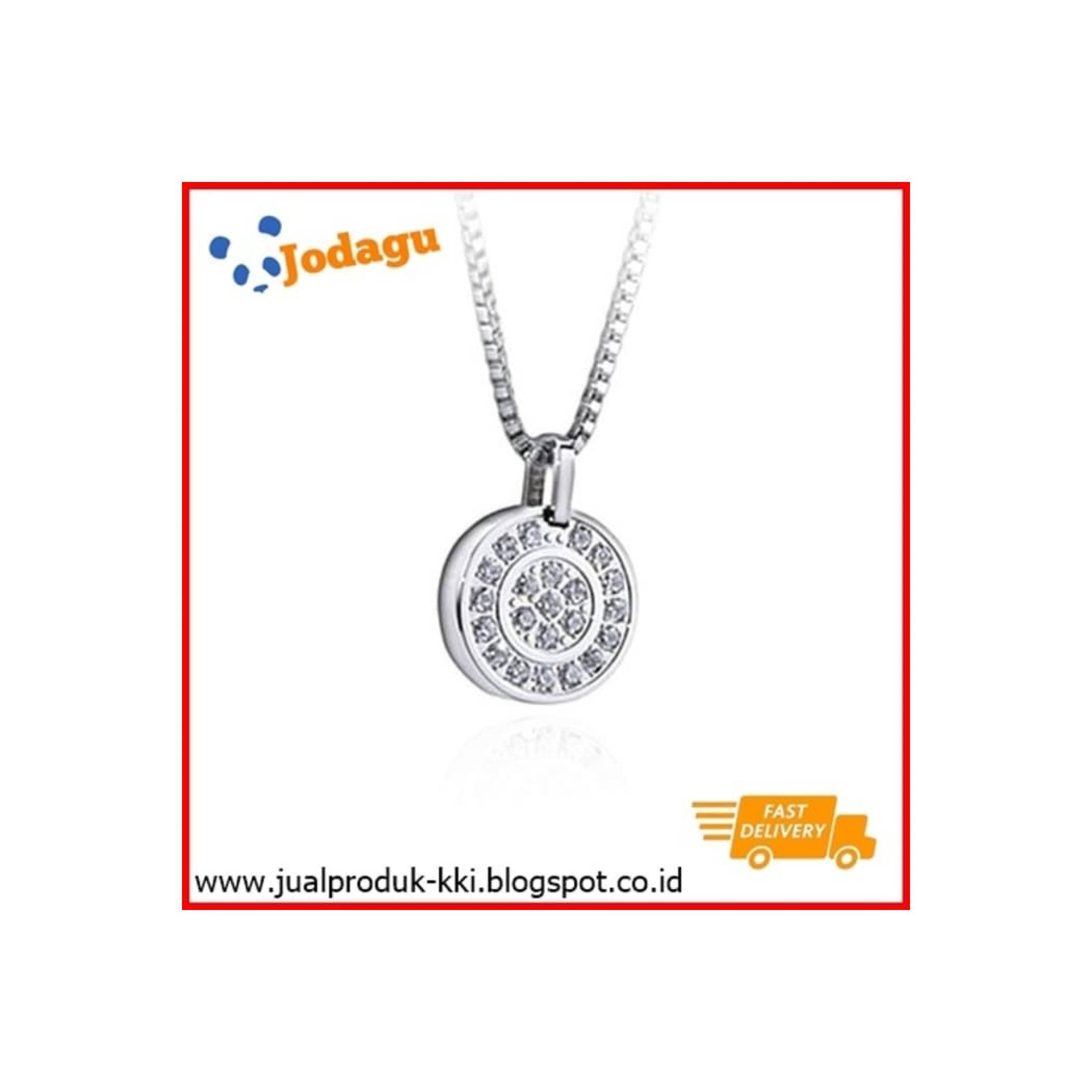 Kalung Kesehatan KK Liforce Double Ring Diamond