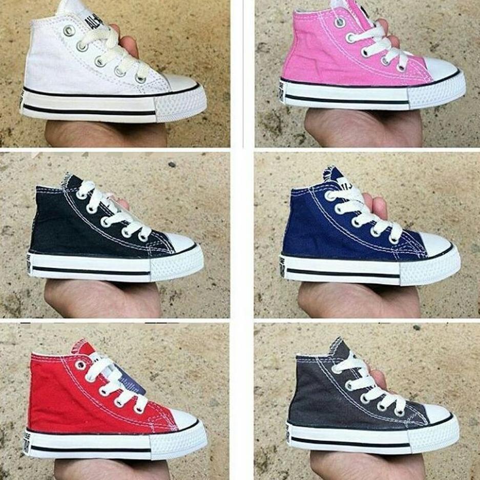 Top Prodak Sepatu Anak Converse All Star Kids  Converse(COD BAYAR DI TEMPAT)