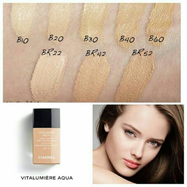 Chanel vitalumiere aqua foundation br12