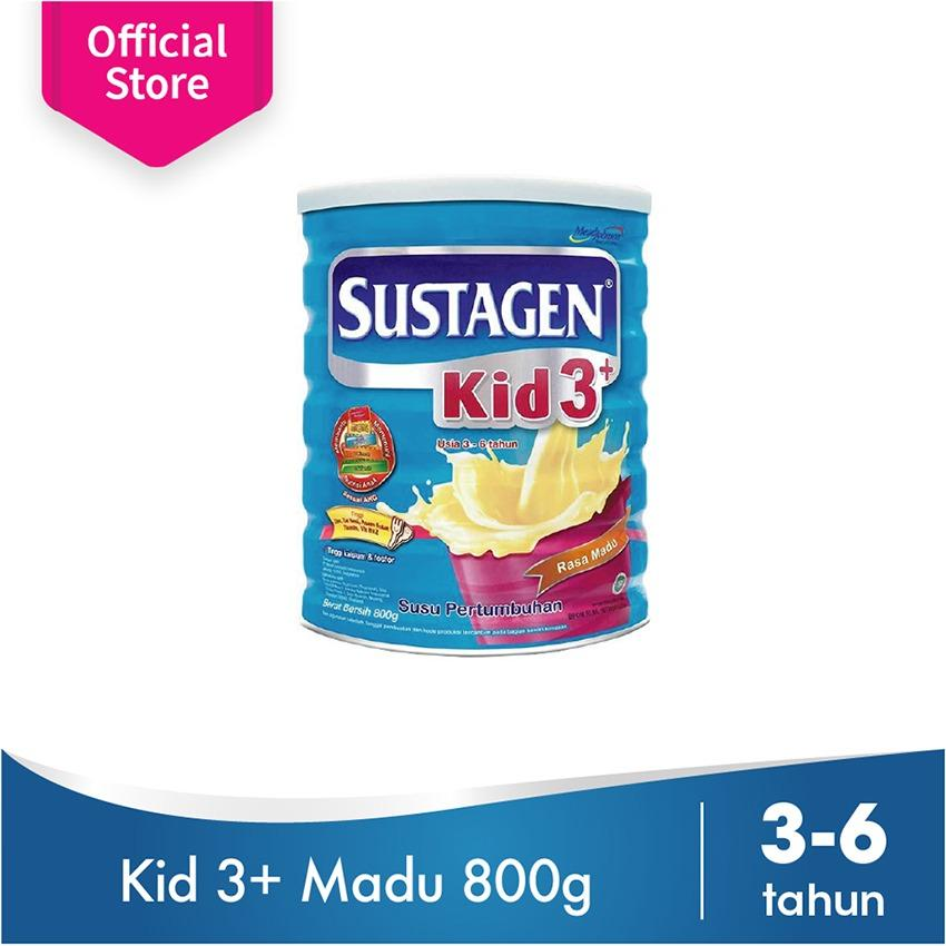 Jual Sustagen Kid 3 Susu Pertumbuhan A€ Vanila 800Gr Online Indonesia