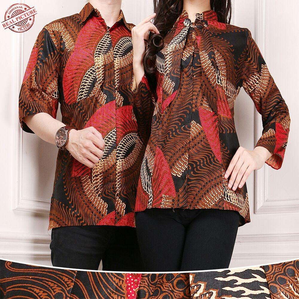 Tips Beli Sb Collection Couple Atasan Brigitha Blouse Dan Kemeja Batik Pria Yang Bagus