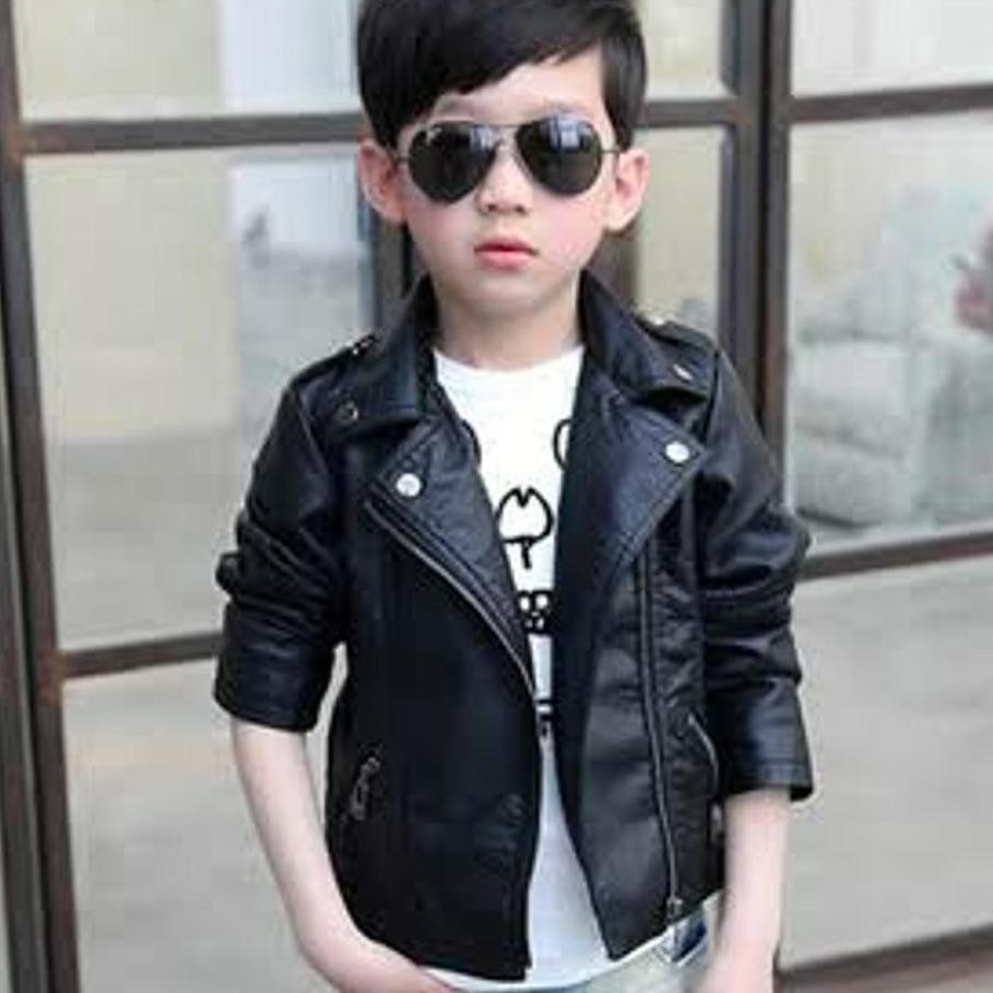 Jaket Semi Kulit Anak Ramones Rock n Roll The Changcuters