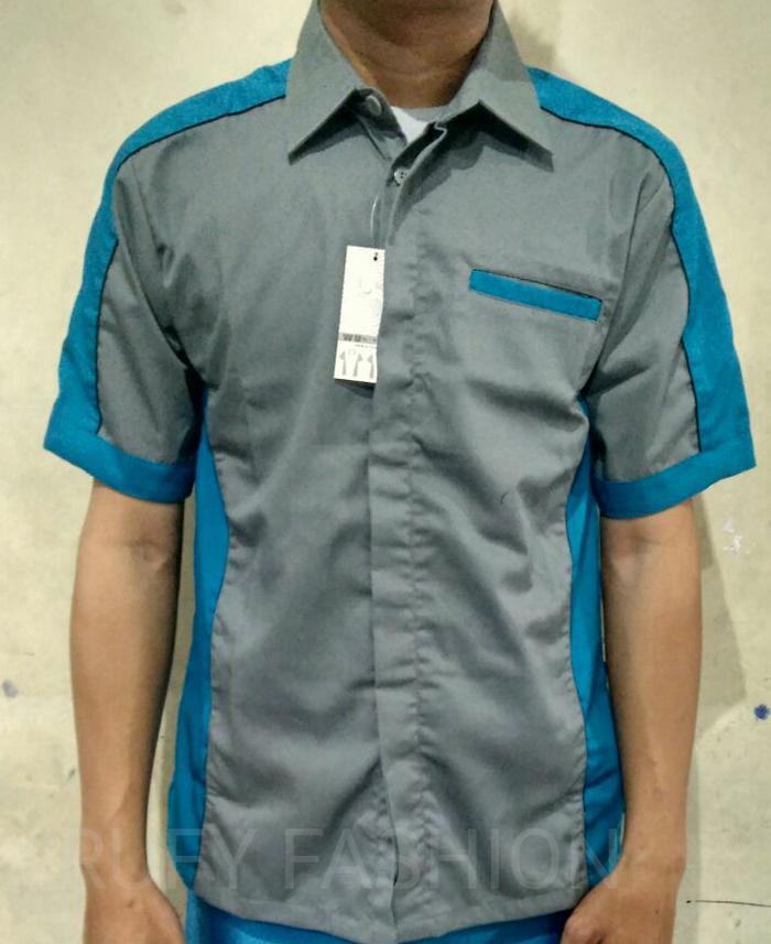 kemeja seragam kerja/wear pack/kemeja drill - mMlvOK