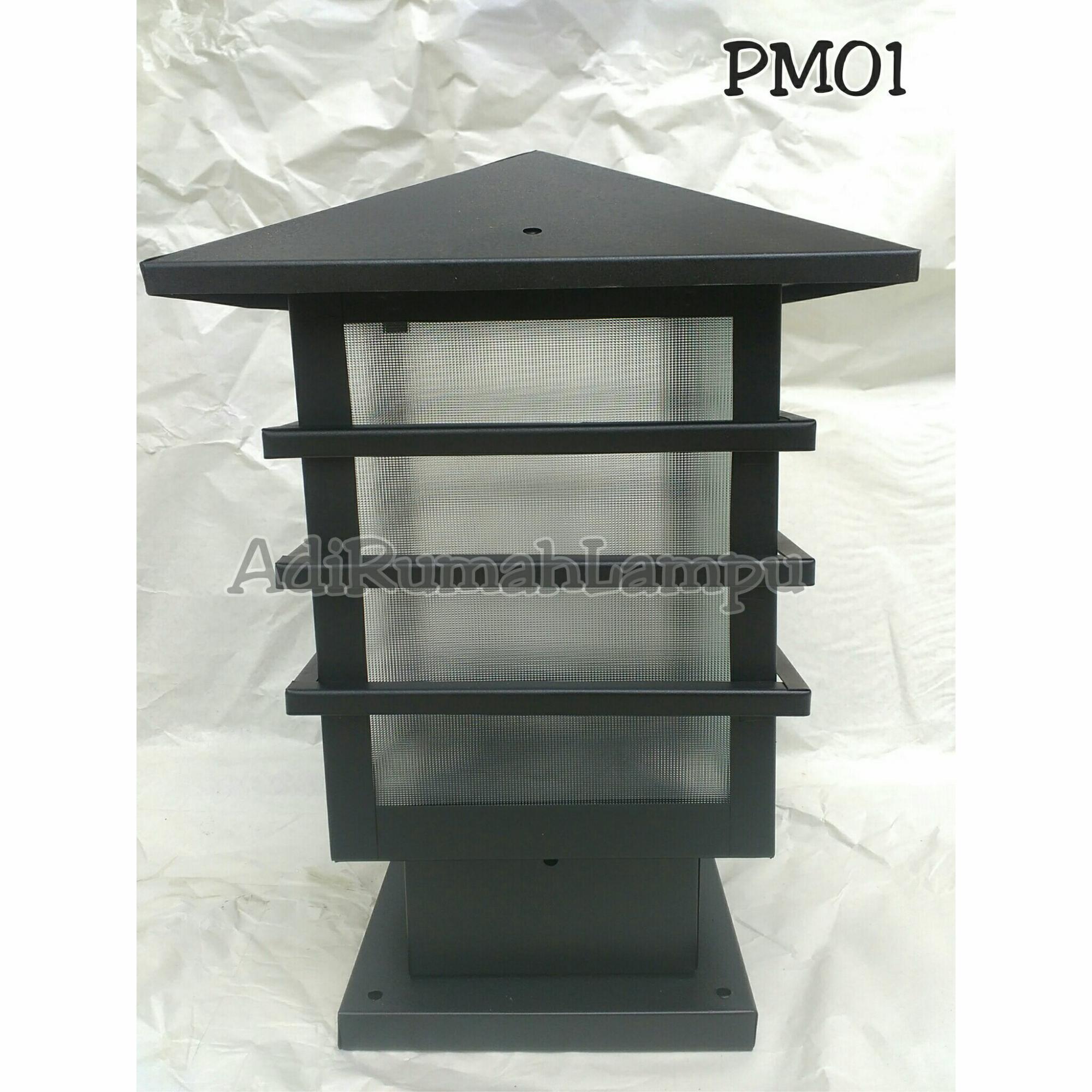 Cek Harga Baru Lampu Pilar Pagar Pm05 59bbb6 Terkini Situs 45 Taman P01