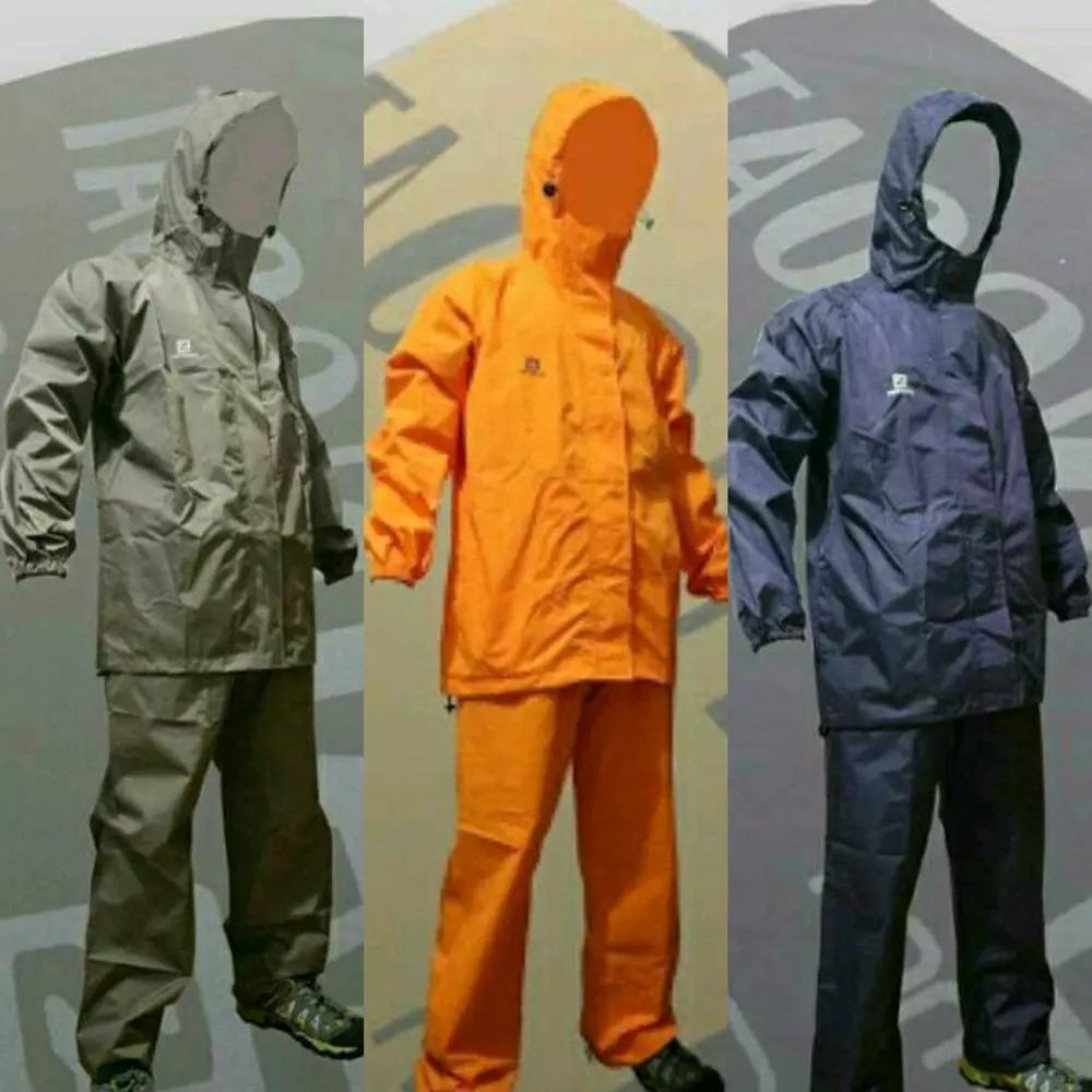 Jas Hujan Poncho Celana Ekslusif 68214 Tiger Head Rain Coat Motor Biru