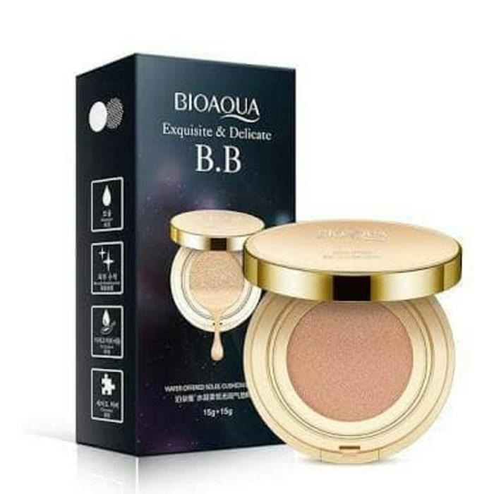 BIOAQUA Exquisite and Delicate + Refill/BB Cushion natural