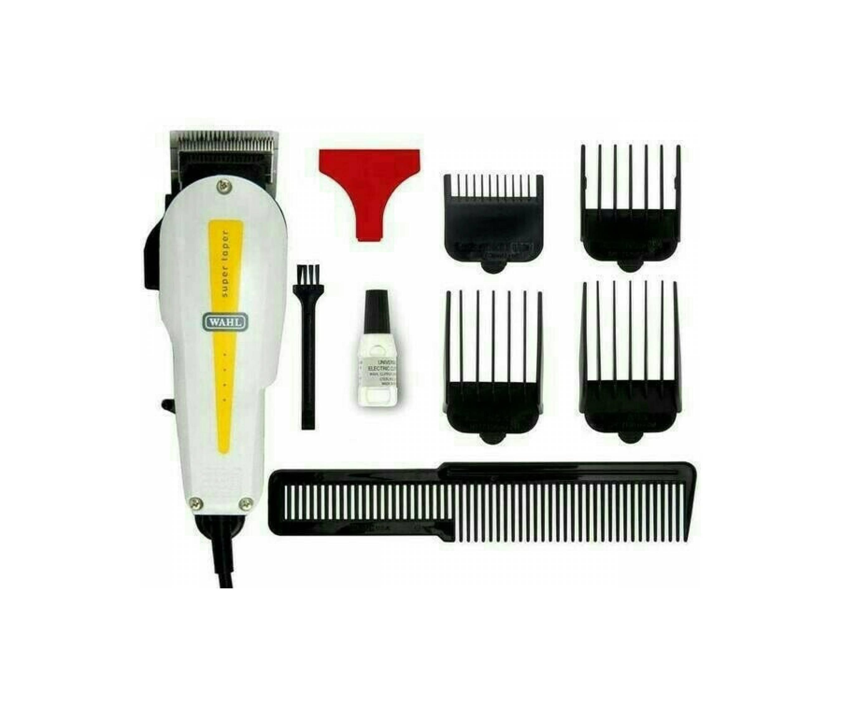 Promo Wahl Alat cukur Rambut Icon Professional Corded Clipper V9000- Hitam/ Gratis Gunting 7 IN 1 - KOMPLITIDR385000. Rp 392.000