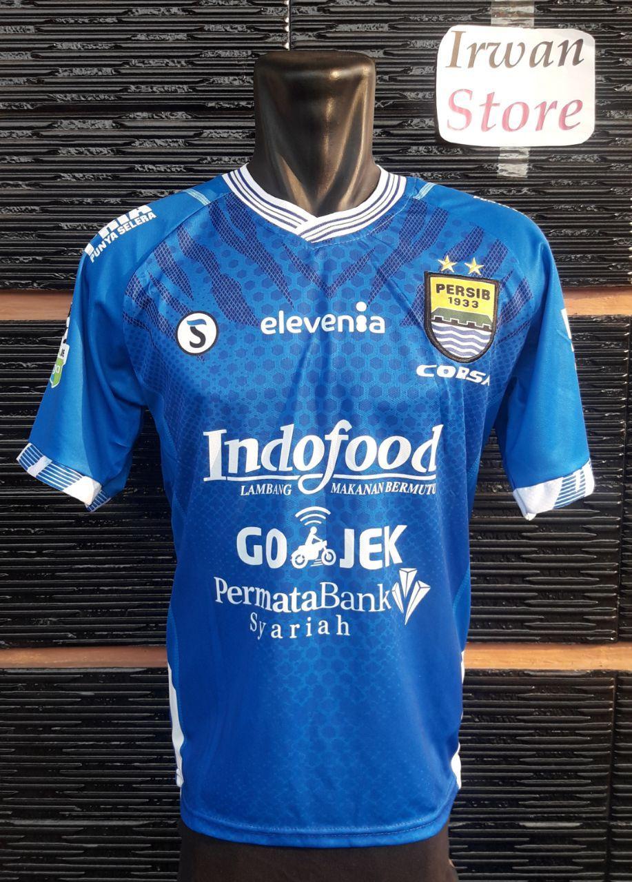Kelebihan Kaos Polo Bola Persib Bandung Putih 2017 2018 Jersey Home Grade Ori Baju Dewasa Liga Indonesia
